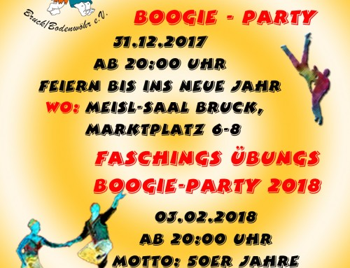 Silvesterparty der Boogie-Babies