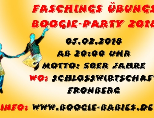 Faschings-Übungsparty in Fronberg