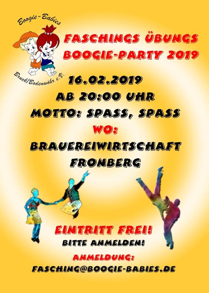 Silvesterparty Und Faschingsparty Boogie Babies Bruck Bodenwohr E V