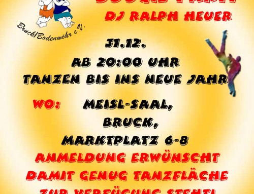 Silvester-Übungs-Party 2019/2020